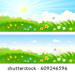 vector cartoon illustration of... | Shutterstock .eps vector #609246596