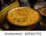valencia   spain  january the... | Shutterstock . vector #609261752