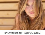 beautiful woman | Shutterstock . vector #609301382