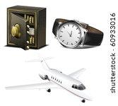 business life vector icon set | Shutterstock .eps vector #60933016