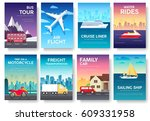 variations transport of travel... | Shutterstock .eps vector #609331958