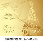 happy new year background   Shutterstock .eps vector #60935221
