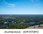 Landscape From Stone Mountain...