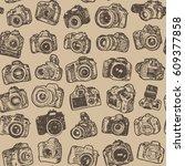 hand drawing doodle sketching... | Shutterstock .eps vector #609377858