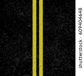 black asphalt background with... | Shutterstock .eps vector #609404648