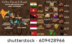 vector infographic concept ... | Shutterstock .eps vector #609428966