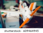 plane is on the radio control.... | Shutterstock . vector #609464945