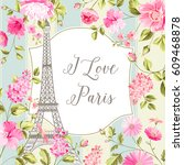 i love paris invitation card....