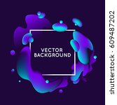 vector design template and... | Shutterstock .eps vector #609487202