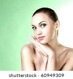 beautiful portrait of the girl | Shutterstock . vector #60949309