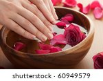 spa for hands | Shutterstock . vector #60949579
