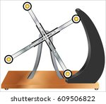 perpetual energy | Shutterstock .eps vector #609506822