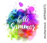 watercolor imitation... | Shutterstock .eps vector #609560372