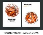 design for basketball. set...   Shutterstock .eps vector #609612095