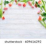 Floral Frame With Spring...