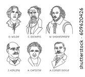 Portraits Of English Famous...
