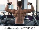 healthy man standing strong in... | Shutterstock . vector #609636512