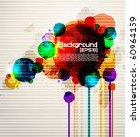 abstract contemporary vector... | Shutterstock .eps vector #60964159