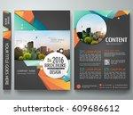 portfolio design template... | Shutterstock .eps vector #609686612