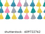 vector colorful decorative... | Shutterstock .eps vector #609722762