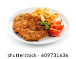 Fried Pork Chop With French...