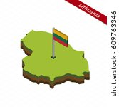 isometric map and flag of...