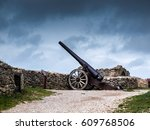 Old Cannon Of Morella