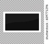 square frame template. white... | Shutterstock .eps vector #609771296