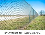 wire fence | Shutterstock . vector #609788792