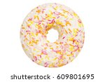One Vanilla Glazed Donut Pastry ...
