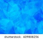 geometric frame  vector... | Shutterstock .eps vector #609808256