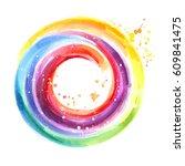Handmade Color Wheel  Round...