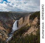 Waterfalls At Grand Canyon Of...