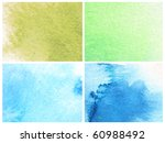 abstract watercolor background... | Shutterstock . vector #60988492