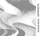 spotted halftone grunge vector... | Shutterstock .eps vector #609898376