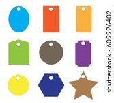 vintage labels and frame. set... | Shutterstock .eps vector #609926402