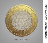 vector illustration. gold... | Shutterstock .eps vector #609996632