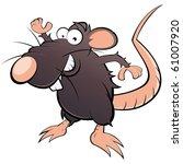 funny cartoon rat