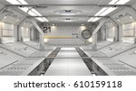 3d rendering of realistic sci... | Shutterstock . vector #610159118