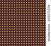 seamless geometric vector... | Shutterstock .eps vector #610171226