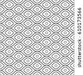 seamless vector ornament.... | Shutterstock .eps vector #610173566