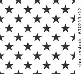 Seamless Pattern With Black...
