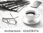 newspaper | Shutterstock . vector #610258376