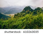wonderful landscapes from sapa... | Shutterstock . vector #610263035