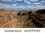 colorado national monument | Shutterstock . vector #610299392