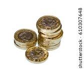 New British Sterling One Pound...