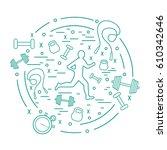 vector illustration of the...   Shutterstock .eps vector #610342646