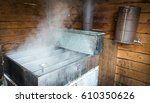 steam rising off of boiler... | Shutterstock . vector #610350626