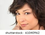 portrait of a beautiful brown... | Shutterstock . vector #61040962