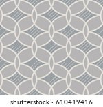 abstract geometric pattern .... | Shutterstock .eps vector #610419416